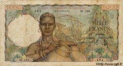 1000 Francs type 1945 AFRIQUE OCCIDENTALE FRANÇAISE (1895-1958)  1948 P.42 pr.TB