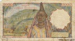 1000 Francs type 1945 AFRIQUE OCCIDENTALE FRANÇAISE (1895-1958)  1948 P.42 B+