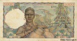 1000 Francs type 1945 AFRIQUE OCCIDENTALE FRANÇAISE (1895-1958)  1948 P.42 TB