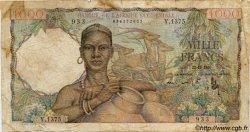 1000 Francs type 1945 AFRIQUE OCCIDENTALE FRANÇAISE (1895-1958)  1950 P.42 pr.B