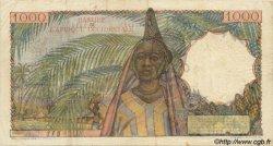 1000 Francs type 1945 AFRIQUE OCCIDENTALE FRANÇAISE (1895-1958)  1950 P.42 TB+
