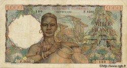 1000 Francs type 1945 AFRIQUE OCCIDENTALE FRANÇAISE (1895-1958)  1951 P.42 TB+