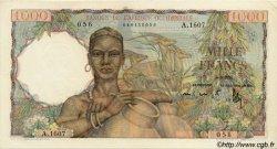 1000 Francs type 1945 AFRIQUE OCCIDENTALE FRANÇAISE (1895-1958)  1951 P.42 SUP à SPL
