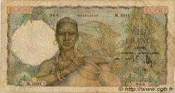 1000 Francs AFRIQUE OCCIDENTALE FRANÇAISE (1895-1958)  1951 P.42 B