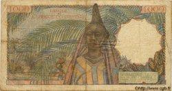 1000 Francs AFRIQUE OCCIDENTALE FRANÇAISE (1895-1958)  1951 P.42 TB