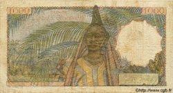 1000 Francs AFRIQUE OCCIDENTALE FRANÇAISE (1895-1958)  1952 P.42 TB