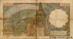 1000 Francs AFRIQUE OCCIDENTALE FRANÇAISE (1895-1958)  1953 P.42 B