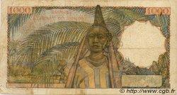 1000 Francs type 1945 AFRIQUE OCCIDENTALE FRANÇAISE (1895-1958)  1953 P.42 TB