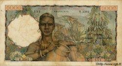 1000 Francs AFRIQUE OCCIDENTALE FRANÇAISE (1895-1958)  1953 P.42 TTB