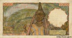 1000 Francs type 1945 AFRIQUE OCCIDENTALE FRANÇAISE (1895-1958)  1954 P.42 TB+ à TTB