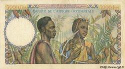5000 Francs AFRIQUE OCCIDENTALE FRANÇAISE (1895-1958)  1948 P.43 TTB+