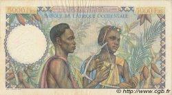5000 Francs type 1946 AFRIQUE OCCIDENTALE FRANÇAISE (1895-1958)  1950 P.43 TTB