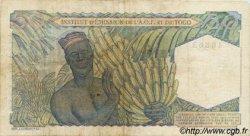 50 Francs type 1943, modifié 1955 TOGO  1955 P.44 TB