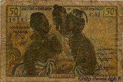 50 Francs type 1956 TOGO  1956 P.45 AB
