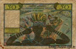 50 Francs type 1956 TOGO  1956 P.45 B+