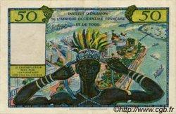 50 Francs type 1956 TOGO  1956 P.45 SUP