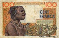 100 Francs type 1956 TOGO  1956 P.46 TB+
