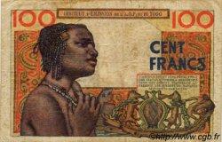 100 Francs type 1956 TOGO  1957 P.46 TB