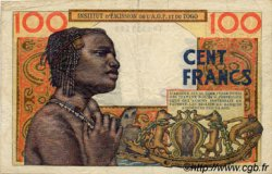 100 Francs type 1956 TOGO  1957 P.46 TB+ à TTB