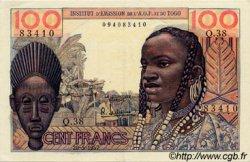 100 Francs type 1956 TOGO  1957 P.46 pr.SPL
