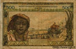 500 Francs type 1957 TOGO  1956 P.47 AB