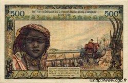 500 Francs TOGO  1956 P.47 TTB+