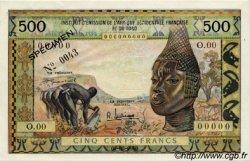 500 Francs TOGO  1957 P.47s pr.SUP