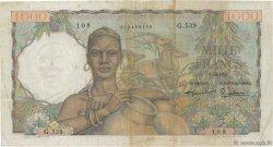 1000 Francs TOGO  1955 P.48 TB