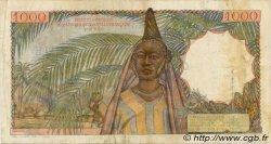 1000 Francs TOGO  1955 P.48 TB+