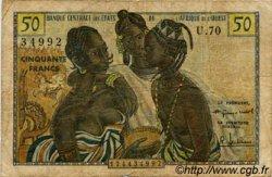 50 Francs type 1956, modifié 1960 AFRIQUE OCCIDENTALE FRANÇAISE (1895-1958)  1960 P.001 B