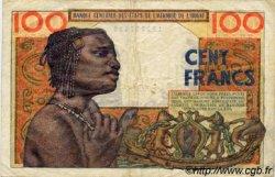100 Francs type 1956 modifié 1960 AFRIQUE OCCIDENTALE FRANÇAISE (1895-1958)  1959 P.002a TTB