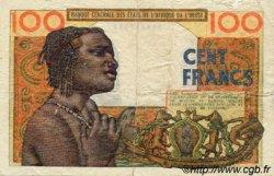 100 Francs type 1956 modifié 1960 SÉNÉGAL  1961 P.701Kb B