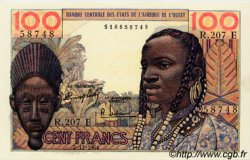 100 Francs type 1956 modifié 1960 MAURITANIE  1964 P.501Ec pr.NEUF