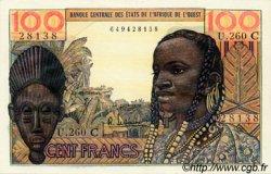 100 Francs type 1956 modifié 1960 BURKINA FASO  1965 P.301Cf pr.NEUF