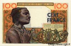 100 Francs type 1956 modifié 1960 BURKINA FASO  1965 P.301Cf NEUF