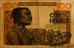 100 Francs type 1956 modifié 1960 AFRIQUE OCCIDENTALE FRANÇAISE (1895-1958)  1966 P.002b B