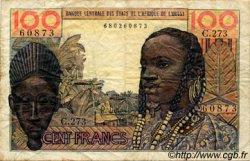 100 Francs type 1956 modifié 1960 AFRIQUE OCCIDENTALE FRANÇAISE (1895-1958)  1966 P.002b TB
