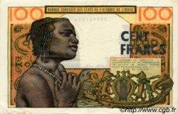 100 Francs type 1956 modifié 1960 AFRIQUE OCCIDENTALE FRANÇAISE (1895-1958)  1966 P.002b TTB+