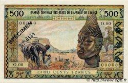 500 Francs type 1957, modifié 1959 AFRIQUE OCCIDENTALE FRANÇAISE (1895-1958)  1959 P.003s SUP