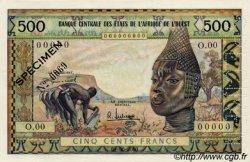 500 Francs type 1957, modifié 1959 ÉTATS DE L
