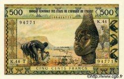 500 Francs type 1957 modifié 1961 TOGO  1973 P.802Tk pr.NEUF