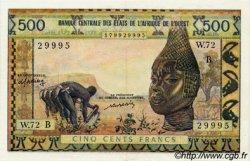 500 Francs type 1957 modifié 1961 ÉTATS DE L