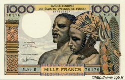 1000 Francs type 1960 BÉNIN  1969 P.203Bh SPL