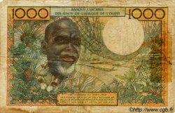 1000 Francs type 1960 BURKINA FASO  1973 P.303Ck B