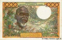 1000 Francs type 1960 COTE D