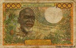 1000 Francs type 1960 BÉNIN  1977 P.203Bm B