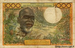 1000 Francs type 1960 BURKINA FASO  1977 P.303Cn pr.TB