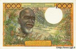 1000 Francs type 1960 BURKINA FASO  1977 P.303Cn SPL