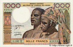 1000 Francs type 1960 TOGO  1977 P.803Tn pr.NEUF