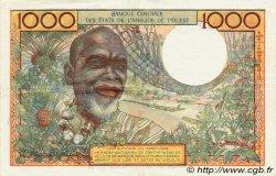 1000 Francs type 1960 SÉNÉGAL  1980 P.703Ko TTB à SUP